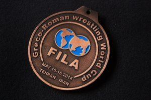 مدال جام جهانی کشتی