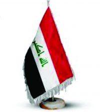 پرچم رومیزی عراق